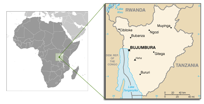 Burundi and New Dominion Philanthropy Metrics